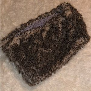 Aerie Reversible Faux Fur Infinity Scarf